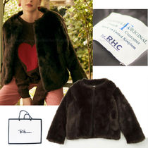 Ron Herman Faux Fur Plain Cashmere & Fur Coats