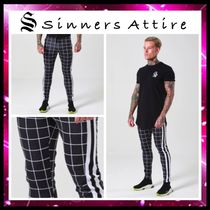 SINNERS ATTIRE Tapered Pants Street Style Tapered Pants