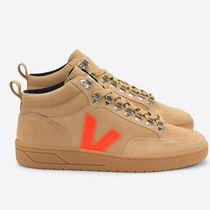 VEJA Casual Style Unisex Suede Plain Low-Top Sneakers
