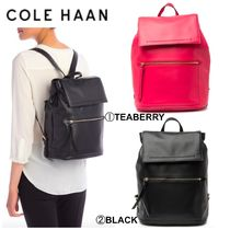 Cole Haan Casual Style Plain Office Style Backpacks