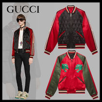 GUCCI Short Nylon Blended Fabrics Other Animal Patterns