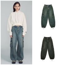 SCULPTOR Street Style Cotton Long Jeans