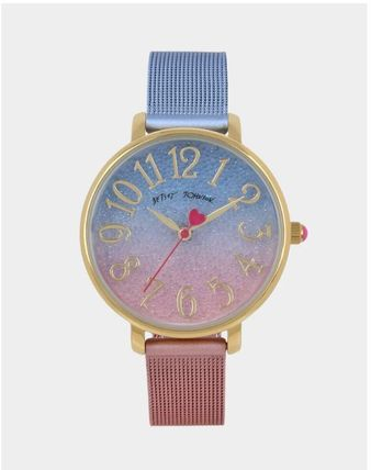Casual Style Round Quartz Watches Office Style Elegant Style