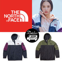 THE NORTH FACE WHITE LABEL Casual Style Unisex Street Style Bi-color Outerwear