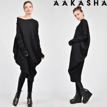 Aakasha Long Sleeves Plain Cotton Medium Handmade Tunics