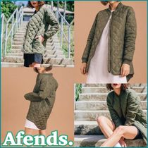 AFENDS Other Check Patterns Casual Style Street Style Plain Long