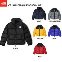 THE NORTH FACE Nuptse Short Unisex Studded Street Style Plain Down Jackets