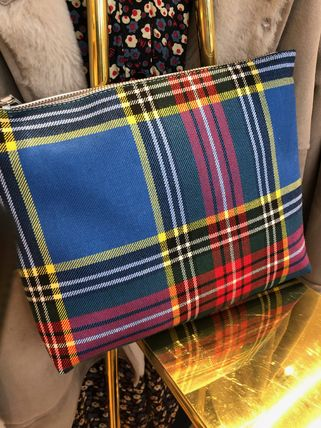 Gingham Clutches
