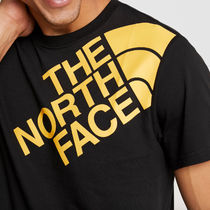 THE NORTH FACE Crew Neck Street Style Plain Cotton Short Sleeves