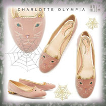 Charlotte Olympia Casual Style Other Animal Patterns Leather Party Style