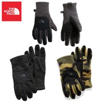 THE NORTH FACE DENALI Camouflage Plain Smartphone Use Gloves