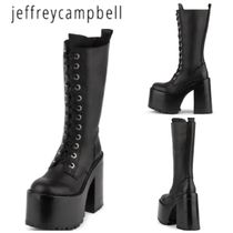 Jeffrey Campbell Casual Style Street Style Plain Wedge Boots