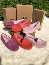 UGG Australia ANSLEY Casual Style Suede Leather Office Style Slip-On Shoes