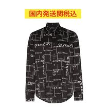 GIVENCHY Street Style Long Sleeves Cotton Shirts