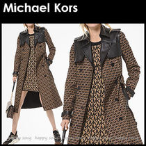 Michael Kors Casual Style Medium Office Style Elegant Style Trench Coats