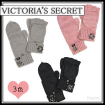 Victoria's secret Street Style Plain With Jewels Gloves Gloves