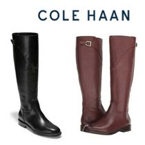 Cole Haan Leather Flat Boots