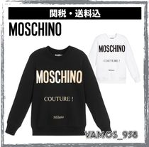Moschino Street Style Kids Boy Tops