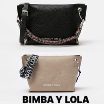bimba & lola Plain Leather Shoulder Bags
