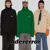 ADERERROR Long Sleeves Plain Knits & Sweaters