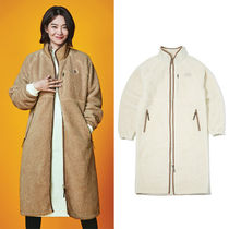 THE NORTH FACE Casual Style Unisex Street Style Plain Long Oversized Coats