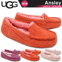 UGG Australia ANSLEY Moccasin Fur Loafer & Moccasin Shoes