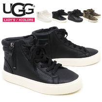 UGG Australia Leather Low-Top Sneakers