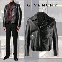 GIVENCHY Street Style Leather Biker Jackets