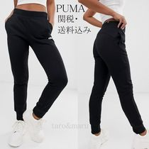 PUMA Casual Style Sweat Street Style Plain Cotton Medium