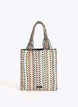 Uterque Casual Style Leather Elegant Style Totes