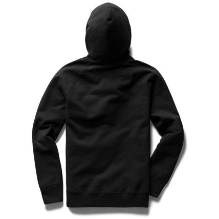 Unisex Sweat Long Sleeves Plain Handmade Logo Hoodies