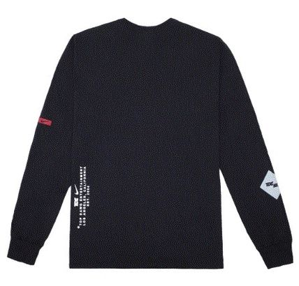 Nike Long Sleeve Crew Neck Street Style Collaboration Long Sleeves Cotton 3