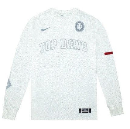 Nike Long Sleeve Crew Neck Street Style Collaboration Long Sleeves Cotton 4