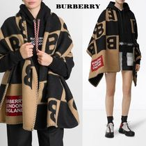 Burberry Wool Cashmere Ponchos & Capes