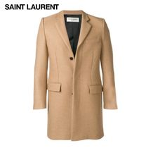 Saint Laurent Wool Chester Coats
