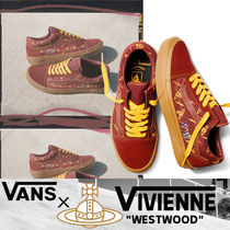 VANS OLD SKOOL Round Toe Rubber Sole Lace-up Casual Style Suede
