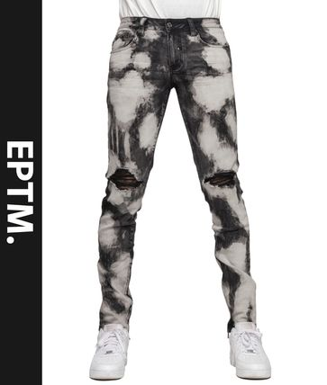 EPTM More Jeans Printed Pants Denim Street Style Jeans