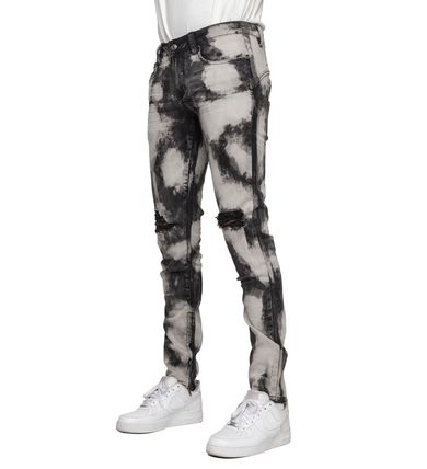 EPTM More Jeans Printed Pants Denim Street Style Jeans 2