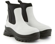 HUNTER Unisex Collaboration Plain Logo Rain Boots Boots