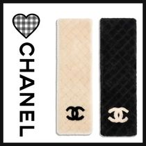 CHANEL ICON Street Style Bi-color Plain Home Party Ideas Special Edition