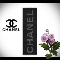 CHANEL Wool Cashmere Blended Fabrics Street Style Home Party Ideas