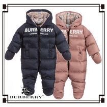 Burberry Street Style Baby Girl Outerwear