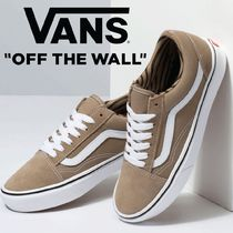 VANS OLD SKOOL Lace-up Casual Style Street Style Plain Low-Top Sneakers