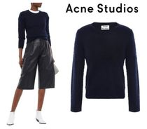 Acne Wool Cashmere Long Sleeves Cashmere