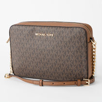 Michael Kors Monogram Casual Style A4 Party Style PVC Clothing
