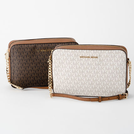 Monogram Casual Style A4 Party Style PVC Clothing Crossbody
