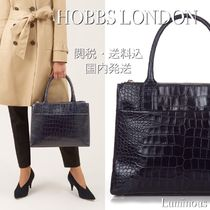 Hobbs London A4 Leather Office Style Elegant Style Totes