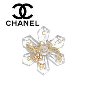 CHANEL Casual Style Party Style Elegant Style Accessories