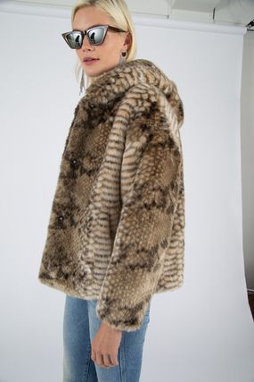 Faux Fur Other Animal Patterns Oversized Eco Fur