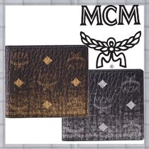 MCM Unisex Folding Wallets